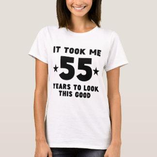 Camiseta Tomou-me 55 anos para olhar este bom