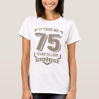 Camiseta Tomou-me 75 anos