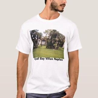 Camiseta tomview, casas de campo reais Nápoles da baía