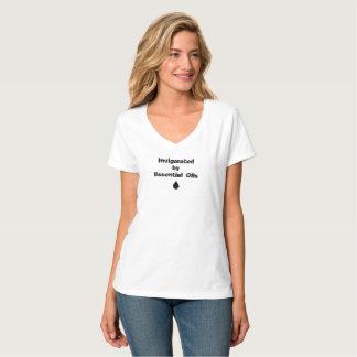 Camiseta Tonificado por óleos essenciais