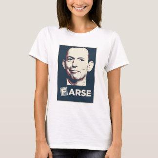 Camiseta Tony Abbott - T da farsa