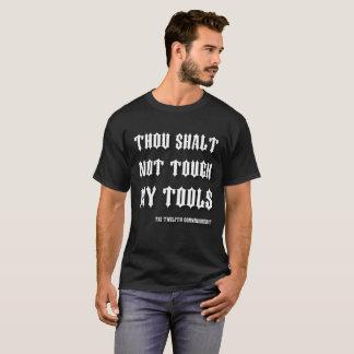 Camiseta Toque de Shalt de mil não meu engraçado inglês