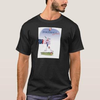 Camiseta Toque do futebol para baixo, fernandes tony