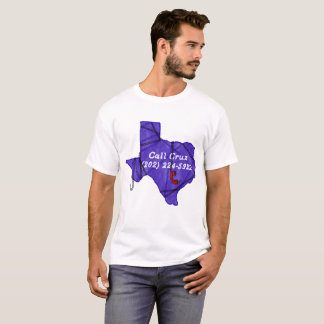 Camiseta Toque em seu senador de Texas