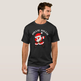 Camiseta Toque ligeiro do papai noel da coisa especial da