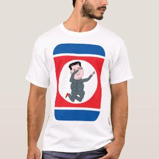 Camiseta Toque ligeiro do Un de Kim Jong da Coreia do Norte