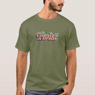 Camiseta Torção do vintage