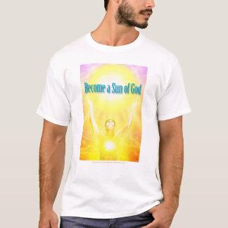 Camiseta Torna-se um Sun do deus