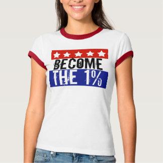 Camiseta Tornam-se o um por cento, Anti-Ocupam-se Wall