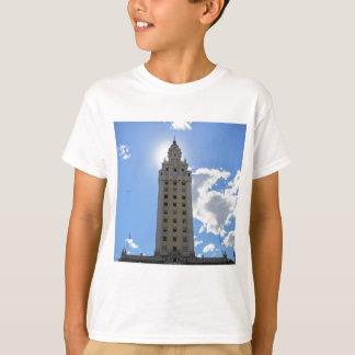 Camiseta Torre cubana da liberdade em Miami