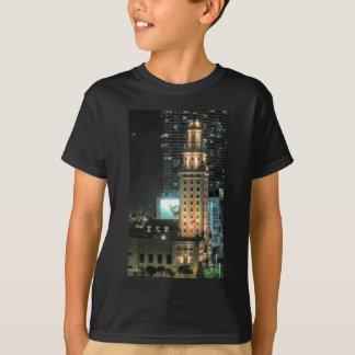 Camiseta Torre cubana da liberdade em Miami 7