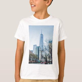 Camiseta Torre da liberdade na Nova Iorque