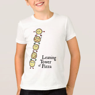 Camiseta Torre inclinada da pizza