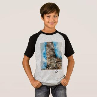 Camiseta Torre inclinada de Pisa