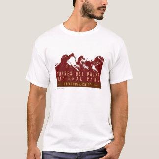 Camiseta Torres del Paine-T-camisa