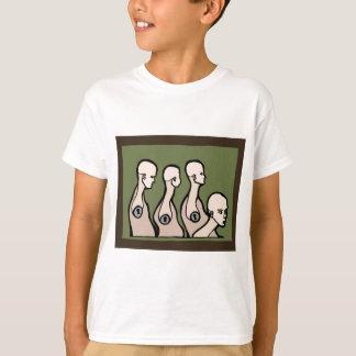 Camiseta Torsos do manequim