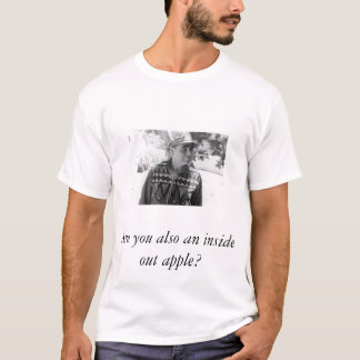 Camiseta Torta de maçã do trovão do rolamento