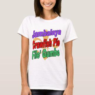 Camiseta Torta dos lagostins do Jambalaya