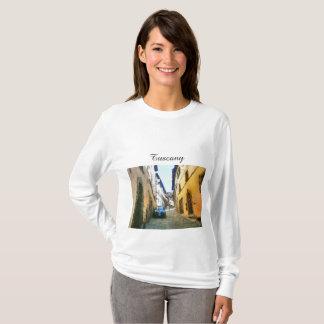 Camiseta Toscânia. Italia. Cortona.