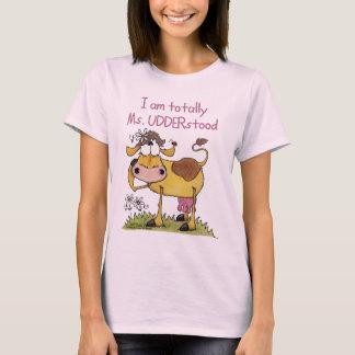Camiseta Totalmente Senhora UDDERstood