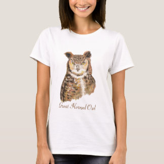Camiseta Totem do animal da coruja
