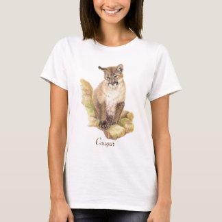 Camiseta Totem do animal do puma