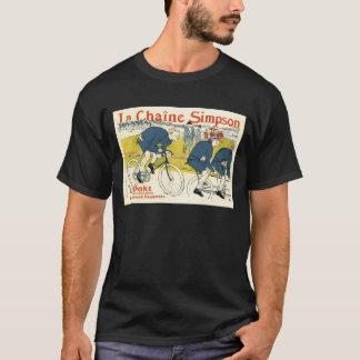 Camiseta Toulouse-Lautrec - arte da bicicleta do vintage