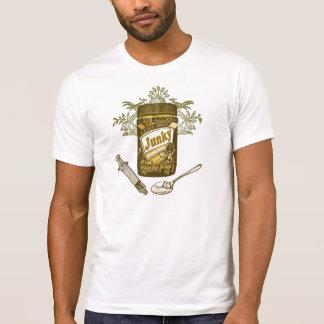 Camiseta Toxicómano da manteiga de amendoim