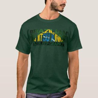 "Camiseta Toxicómano de Jiu Jitsu do brasileiro - ""coma o"
