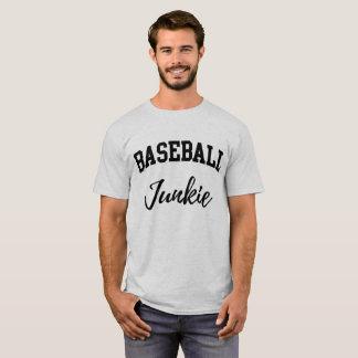 Camiseta Toxicómano do basebol/fã enorme