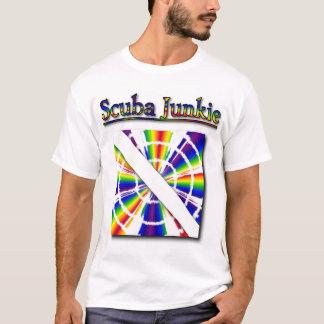 Camiseta Toxicómano do mergulhador