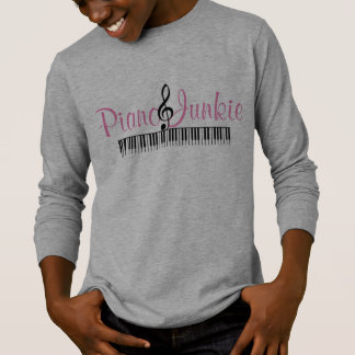 Camiseta Toxicómano do piano