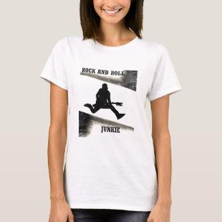 Camiseta Toxicómano do rock and roll