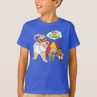 Camiseta Tra-La-Laaaa do capitão Cuecas |!