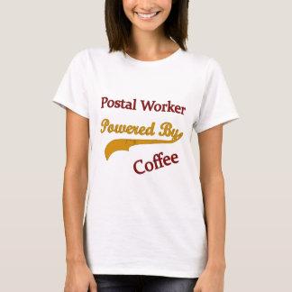 Camiseta Trabalhador postal psto pelo café