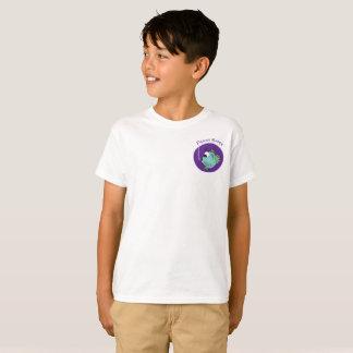 Camiseta Trabalhos de arte adoráveis dos peixes de Darwin