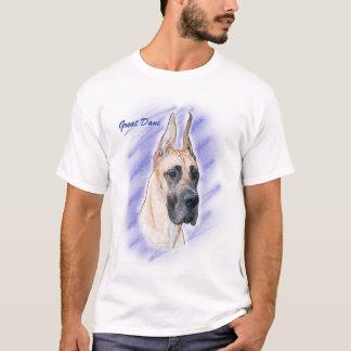Camiseta Trabalhos de arte de great dane - dinamarquês da
