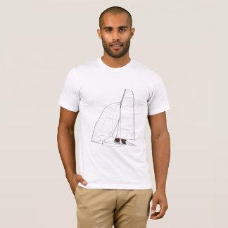 Camiseta Trabalhos de arte do bote da navigação
