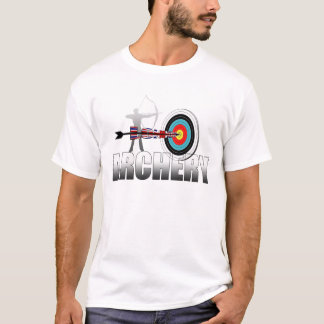 Camiseta Trabalhos de arte dos arqueiros do alvo de Londres