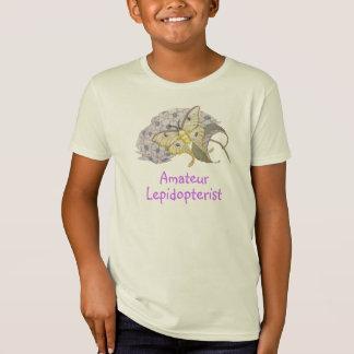 Camiseta Traça de Luna amadora do Lepidopterist