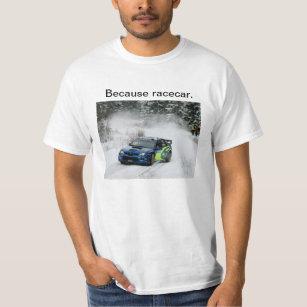 Camiseta Tração da reunião de Subaru porque Racecar