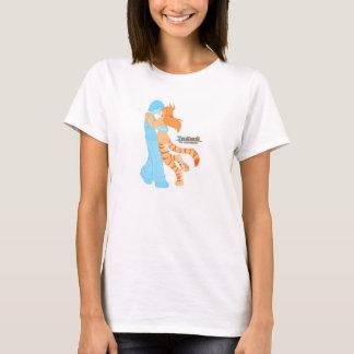 Camiseta Traço e flora, Twokinds