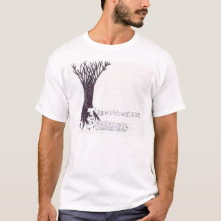 Camiseta tradicional falando