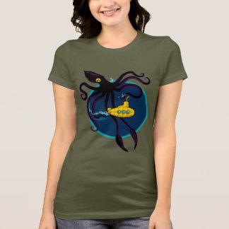 Camiseta Tráfego de mar profundo - obscuridade