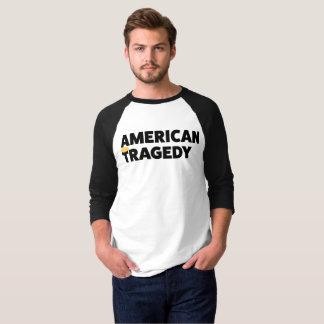 Camiseta Tragédia americana