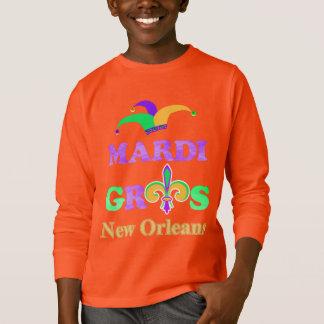 Camiseta Traje 2018 da celebração de Nova Orleães do
