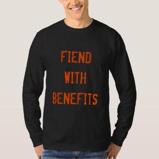 Camiseta traje adulto engraçado do Dia das Bruxas