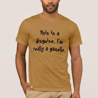 Camiseta Traje da gazela