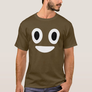 Camiseta Traje de Emoji o Dia das Bruxas do tombadilho