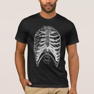 Camiseta Traje de esqueleto do Dia das Bruxas